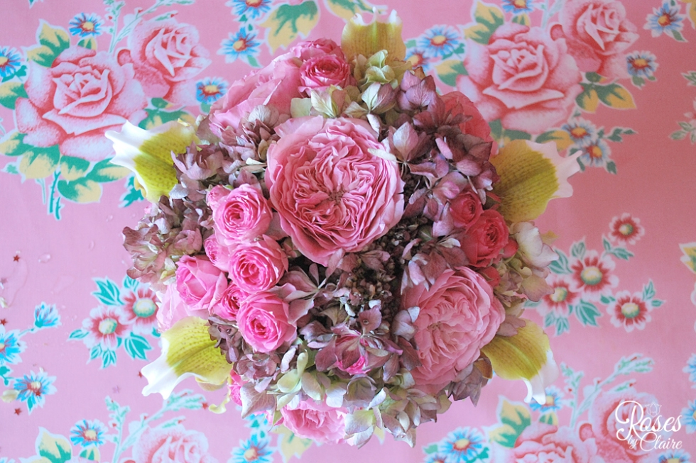 Roses-By-Claire-Bouquet-Pink-&Yellow-5